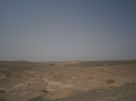 Desert of rock