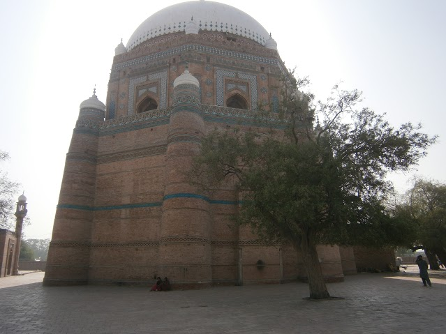 Multan - Mazar of Baha-ud-din Zakariya