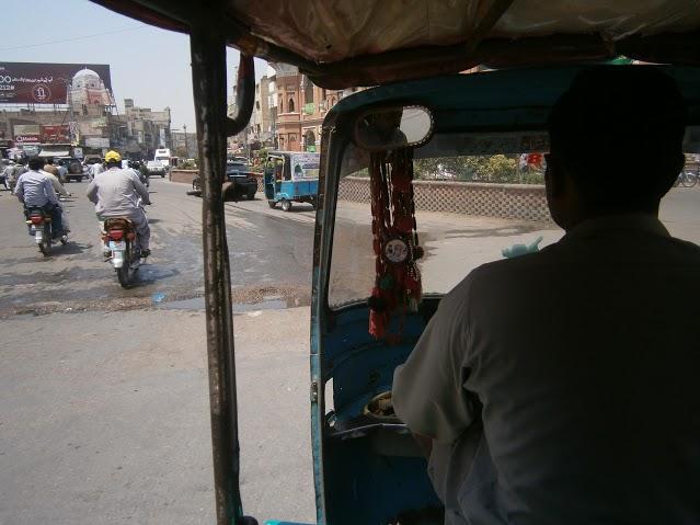 Riksha (local taxi)