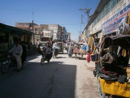 Ulica v Quetta