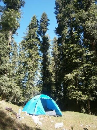 Camping v nacionalen park Ayubia