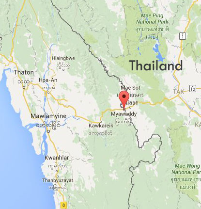 MAP_Myawaddy