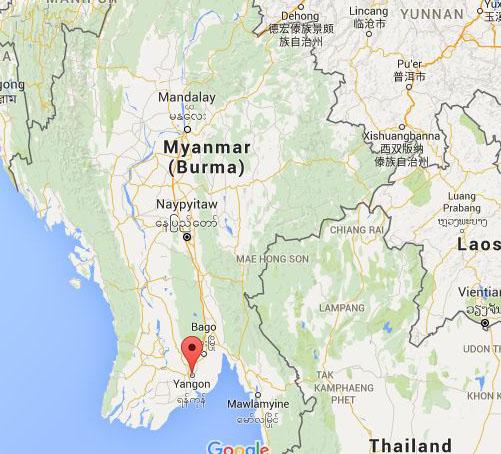 MAP_Yangon