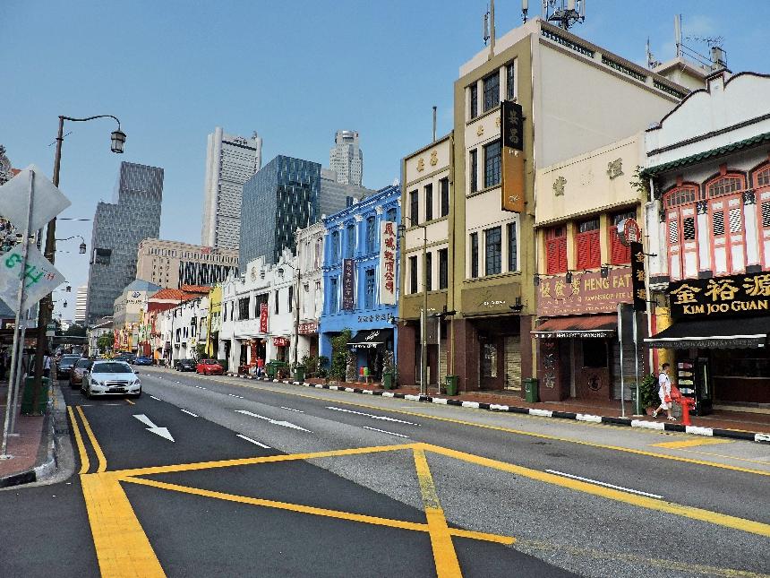 12. Chinatown shops