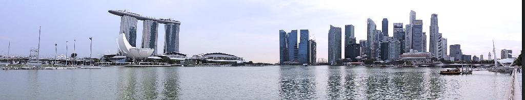 34. Panorama marina bay