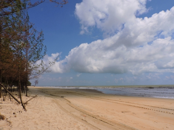 Na plaja