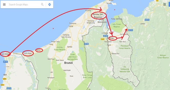 Brunei darussalam one of the last sultanates on earth oil wells map2 gumiabroncs Choice Image